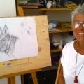 Opera di Artura - matita su carta