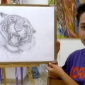 Opera di Emanuele - matita su carta