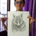 Opera di Alessandra - matita su carta